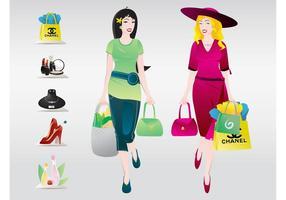 Einkaufen Frauen
