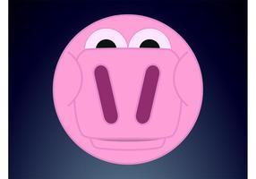 Round Pig Face