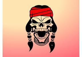 Indischer Schädel