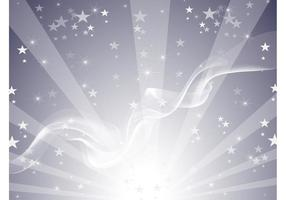 Silver Star Background