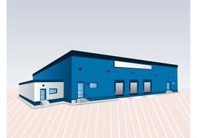 Edifício azul