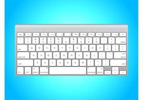 White Apple Keyboard