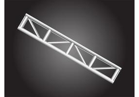 Metallstützstruktur