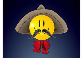 Sombrero-Smiley