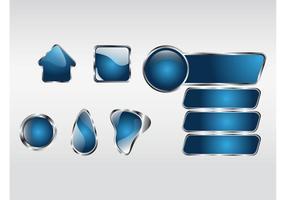 Shiny-button-vectors
