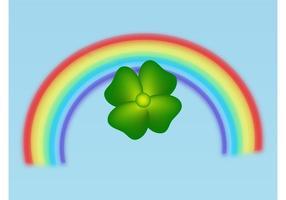 Klee und Regenbogen