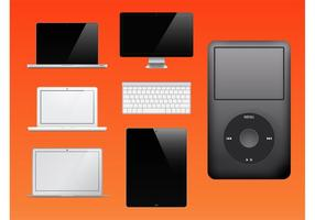 Apple Products Vector