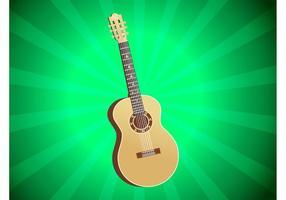 Vector de guitarra acústica