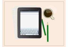 Arbeiten auf iPad