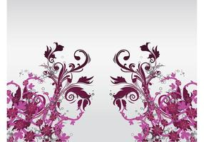 Floral Decoration Vector Art