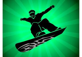 Snowboard-Vektor