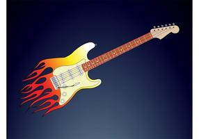 Guitarra Flames