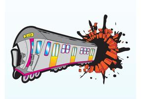 Train fou