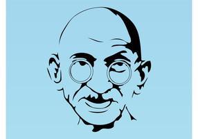 Gandhi-vector