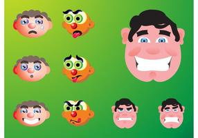 Faces Cartoons