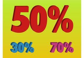 Prozentsatzzahlen
