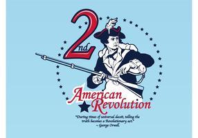 Amerikaanse Revolutie Vector