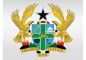 Ghana Coat Of Arms
