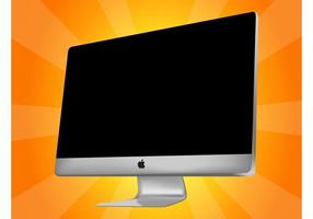 Vector Apple iMac