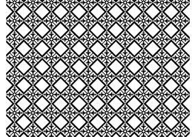 Floral vector patrón