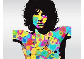 Jim Morrison vecteur