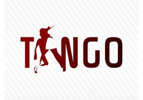 Logo del tango vector