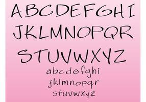 Generic-vector-font