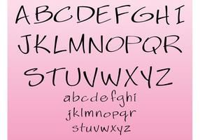 Generic Vector Schriftart