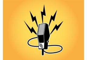 Retro Micrófono