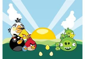 Angry Birds Personajes Vector
