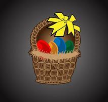 Fröhliche Ostern Vektor Kunst