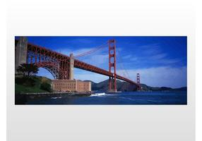Golden Gate Bridge Vector
