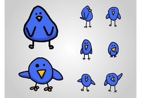 Oiseaux Cartoon