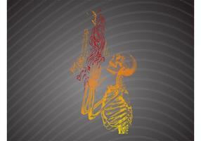 Squelette de prière