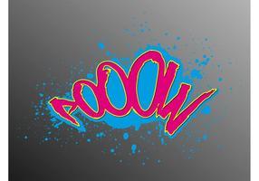 Bunte Graffiti