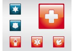 Icônes d'urgence