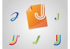 Letter J Logos