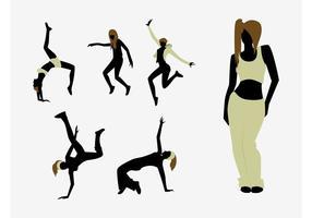Dansare Silhouettes