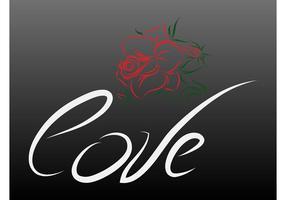 Liebe und Rose