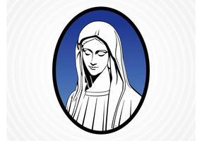 Saint Mary Vector