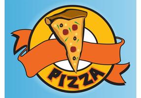 logotipo de pizza
