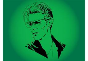 David Bowie Vector