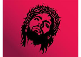 Jesus Face Vector
