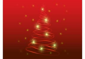 Stilisierter Weihnachtsbaum
