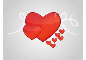 Coeurs brillants