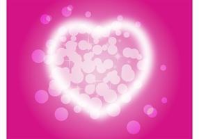 Glänzendes Herz