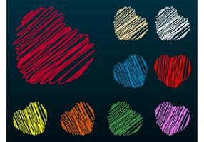 Scribbles do coração