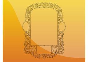 Antique Mirror Frame
