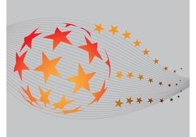 Sterne Globus