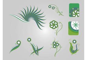 Plantes stylisées